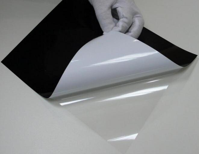 黑白胶保护膜